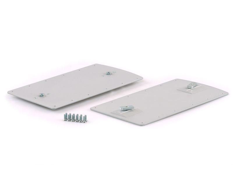 Крепление пантографа FIRMAX на профиле CAFIM, серебро (комплект ЛЕВ+ПРАВ)