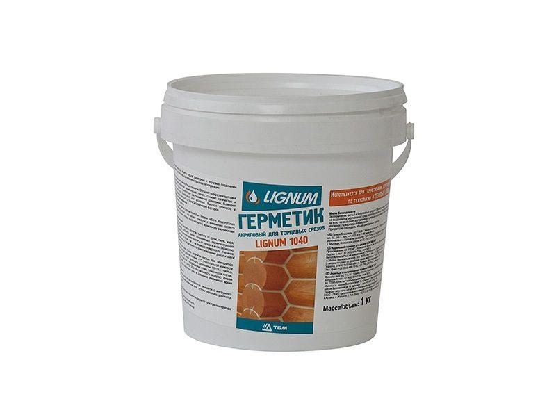 Герметик для торцов древесины LIGNUM 1040, 1л