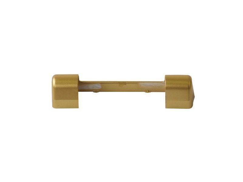 Накладка декоративная верхней петли на раме золото матовое