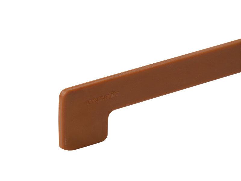 Торцевая заглушка Werzalit пластиковая 605x37мм, золотой дуб