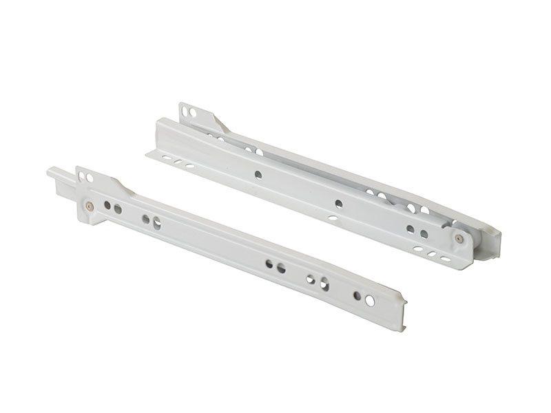 Роликовые направляющие Firmax 400мм, белый (4 части)