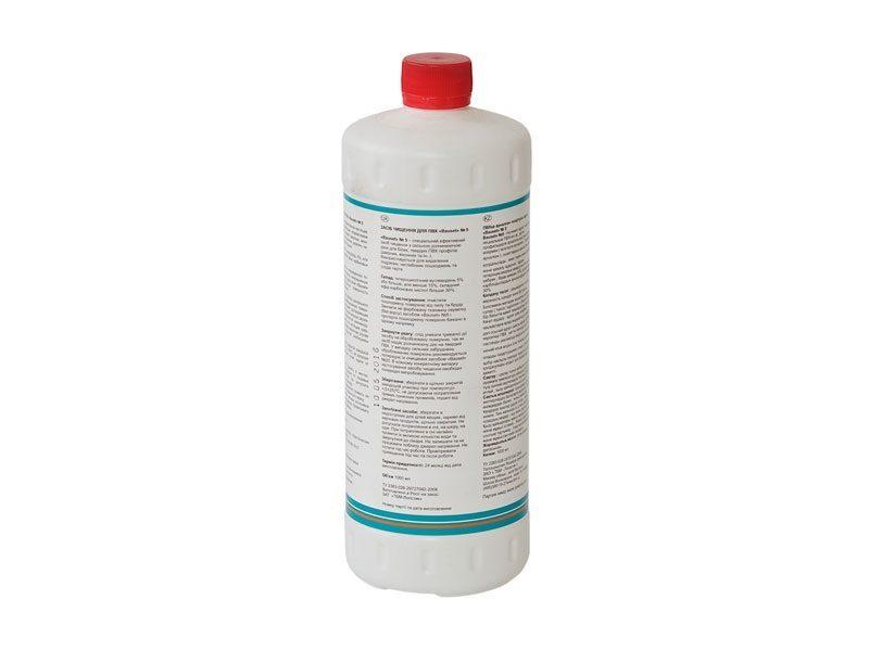 Очиститель-полироль для пвх Bauset №5, BR-5, 1л.