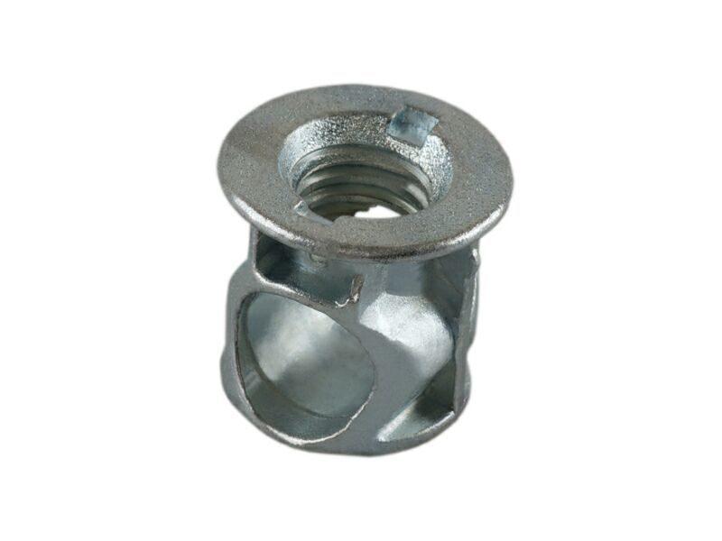 BO01 Стяжка коническая D14 (для ДСП 18 мм), цинк