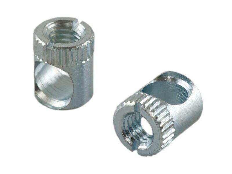 BO04 Стяжка коническая, D=10мм, L=13мм, М6, сталь, цинк. покр.