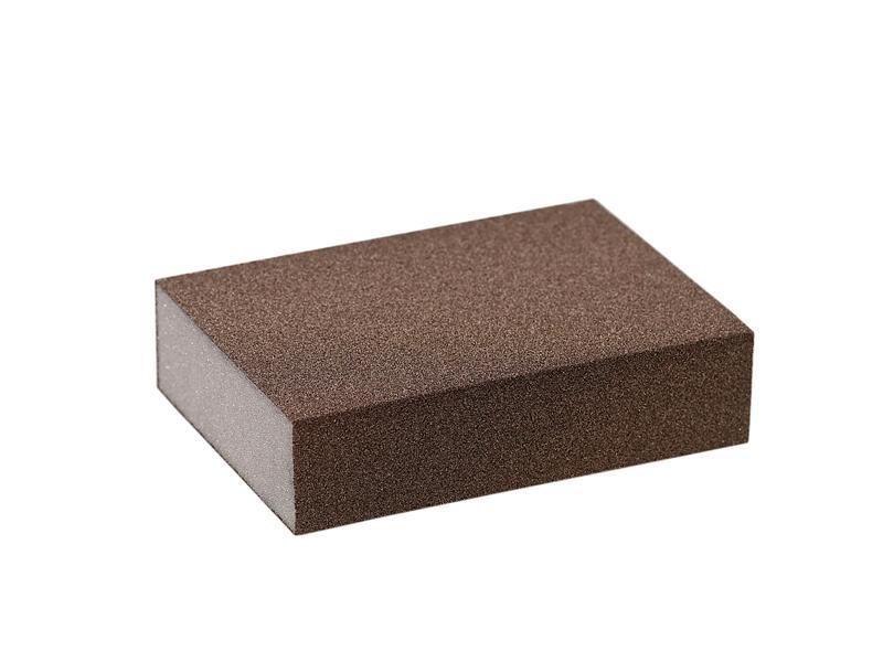 Блок шлифовальный зерно P100 98x69x26мм ZF(мягкий)