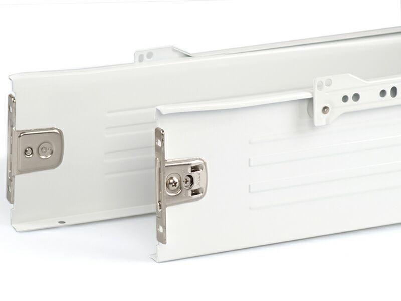 Боковины Firmax на роликовых направляющих, H=118 мм, L=400мм, белый (4 части)