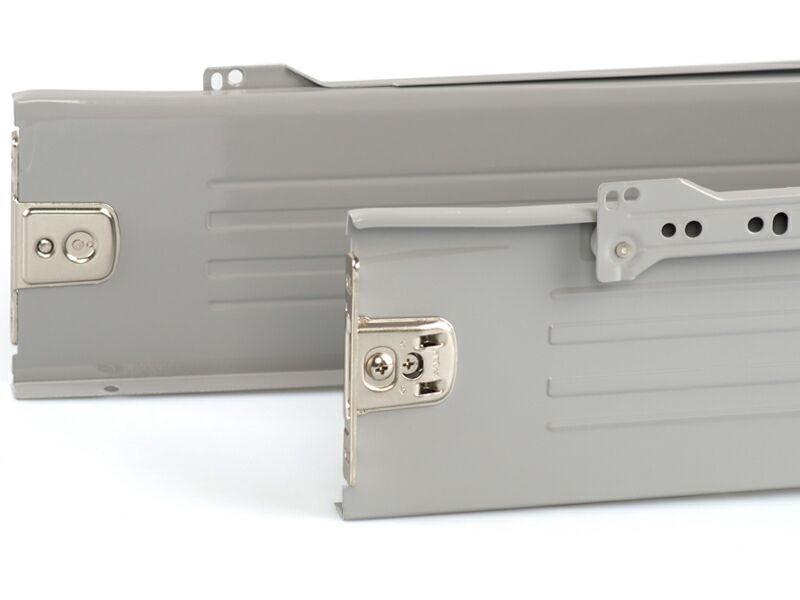 Боковины Firmax на роликовых направляющих, H=118 мм, L=400мм, серый (4 части)