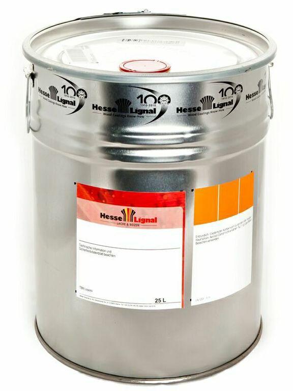 Полиуретановый лак для внутренней отделки Hesse DE 433-2 бесцветный, матовый, 25л