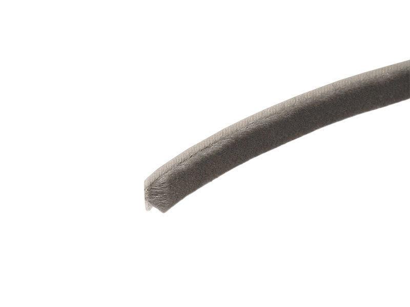 FIRMAX Уплотнитель щеточный самоклеющийся 7 х 6мм серый