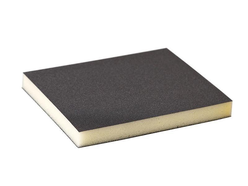 Губка шлифовальная 120x98x13мм P220 Flexifoam Soft Pad