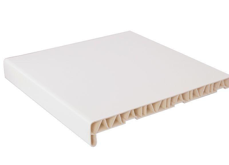 Подоконник пластиковый BAUSET 500мм, белый матовый