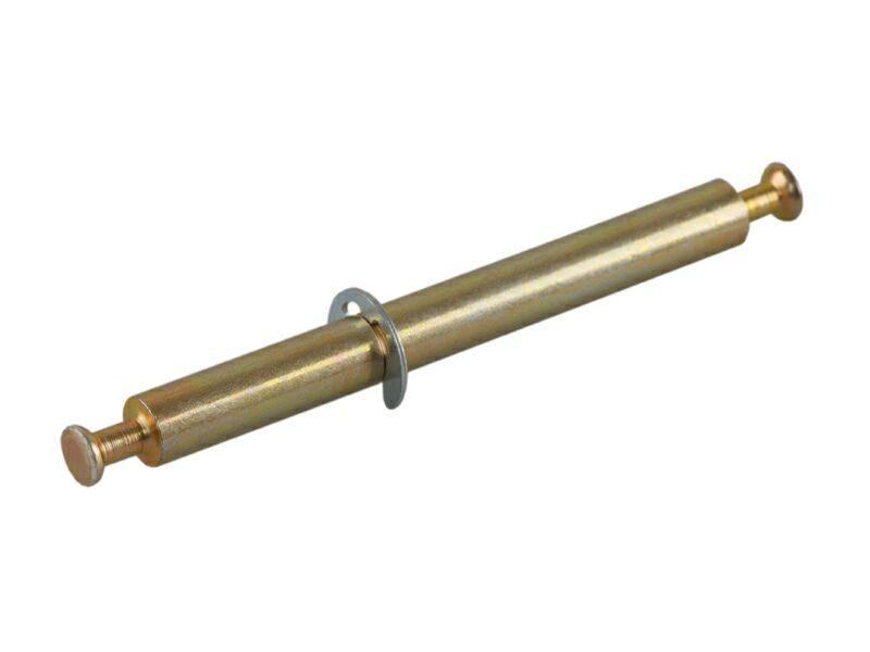 TE11 Дюбель двухст. D7x34 мм,под муфту для ДСП 16 мм,сталь,цинк.пок