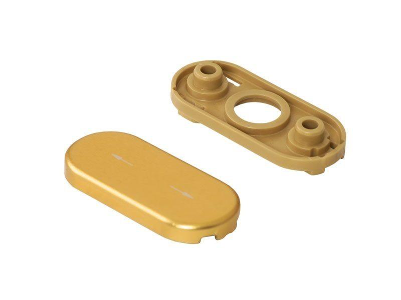 Розетка Rotoline, золото матовый/ золотистый