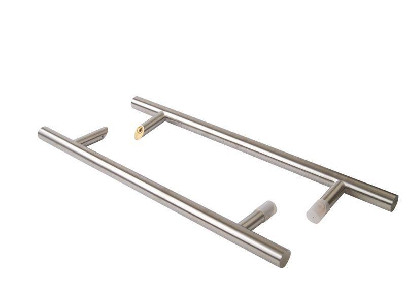 Ручка со смещением, комплект с креплением, L=1000, D=32