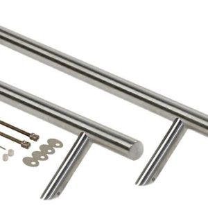 Ручка со смещением, комплект с креплением, L=1200, D=32