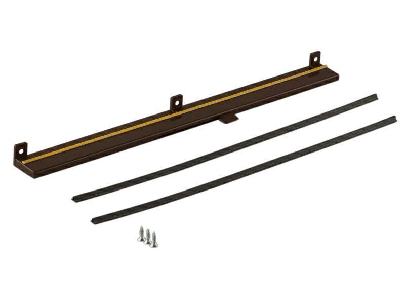 Клапан вентиляционный Air-Box Comfort коричневый RAL8017