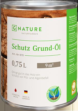 Защитное грунт-масло G-Nature