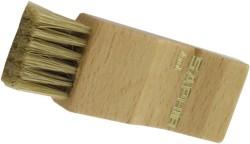 SAPHIR - Щетка-Намазок, МАЛАЯ, СВЕТЛАЯ КОЛОДКА (дерево/нат.щетина)