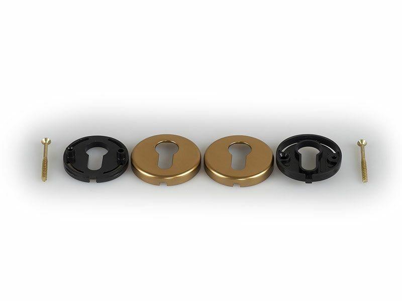Накладка круглая, HOPPE бронза 42KVS PZ