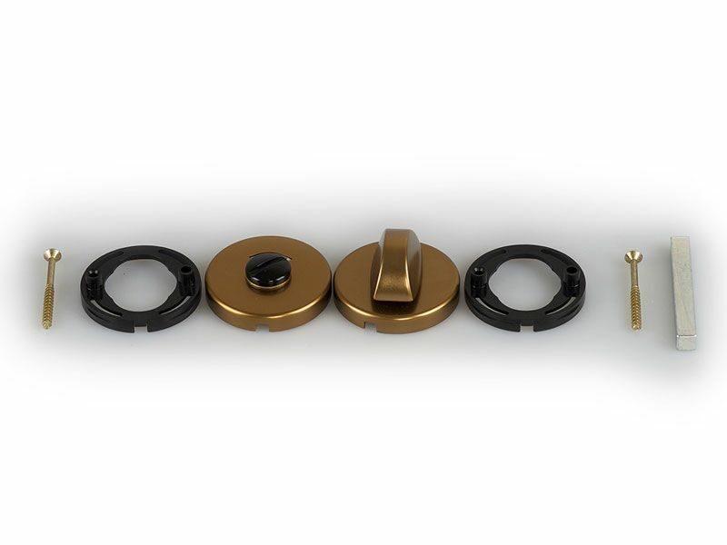 Накладка круглая, HOPPE бронза 42KVS/RW SK/OL