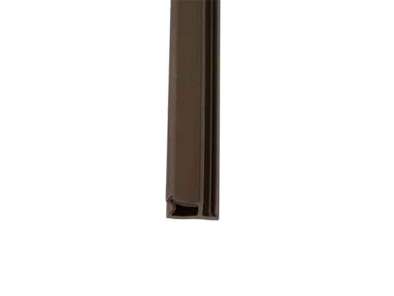 Уплотнитель для деревянных окон DEVENTER 3 мм тёмно-коричневый