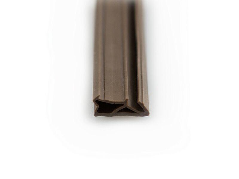 Уплотнитель для деревянных окон DEVENTER 4-5 мм тёмно-коричневый